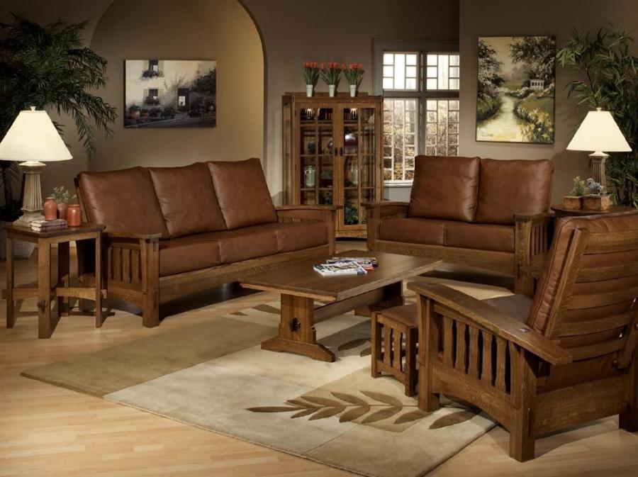 Craftsman Style Living Room Photos