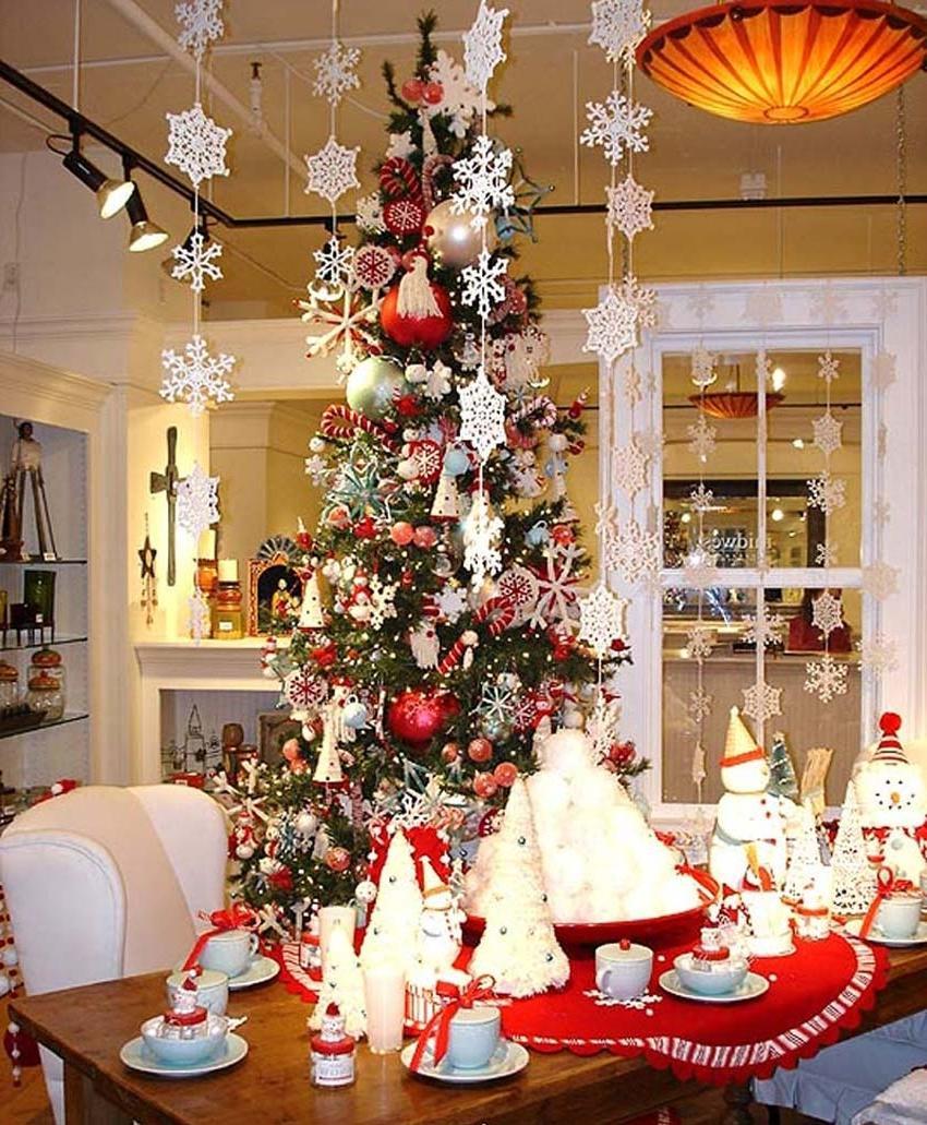 Interior christmas decorating ideas photos for Christmas decoration 94