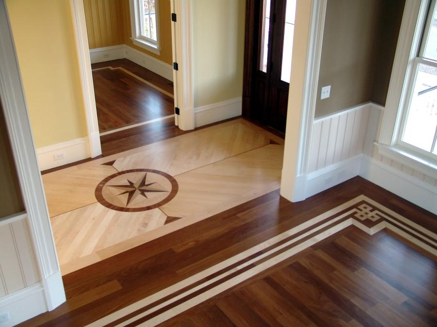 Uncategorized Wooden Floor Design In The Home With A Unique Style...