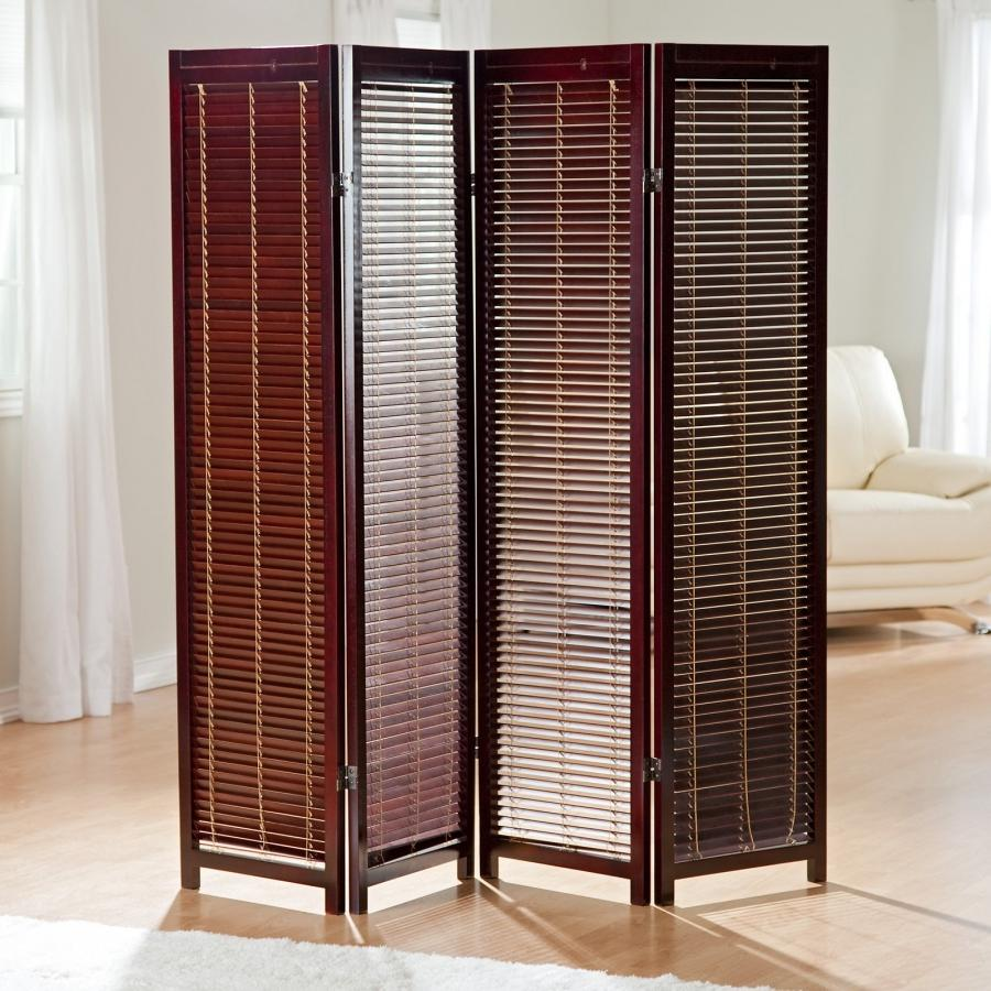 Wooden photo screen room divider for Photo screen room dividers