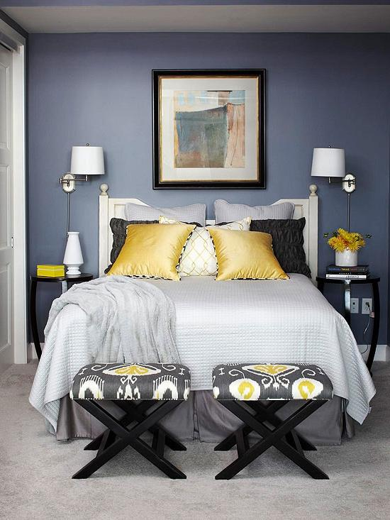 Photos Of Blue And Yellow Bedrooms