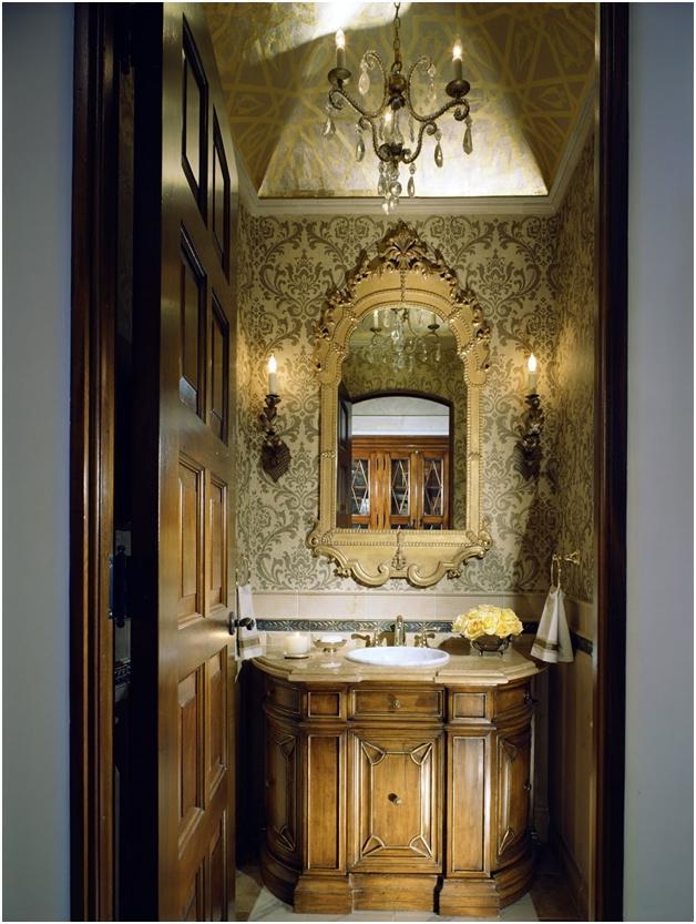 Elegant Powder Room Photos