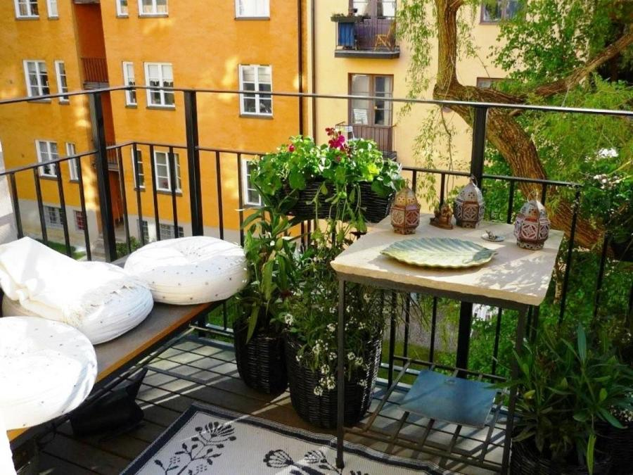 Balcony Garden Decorations Ideas