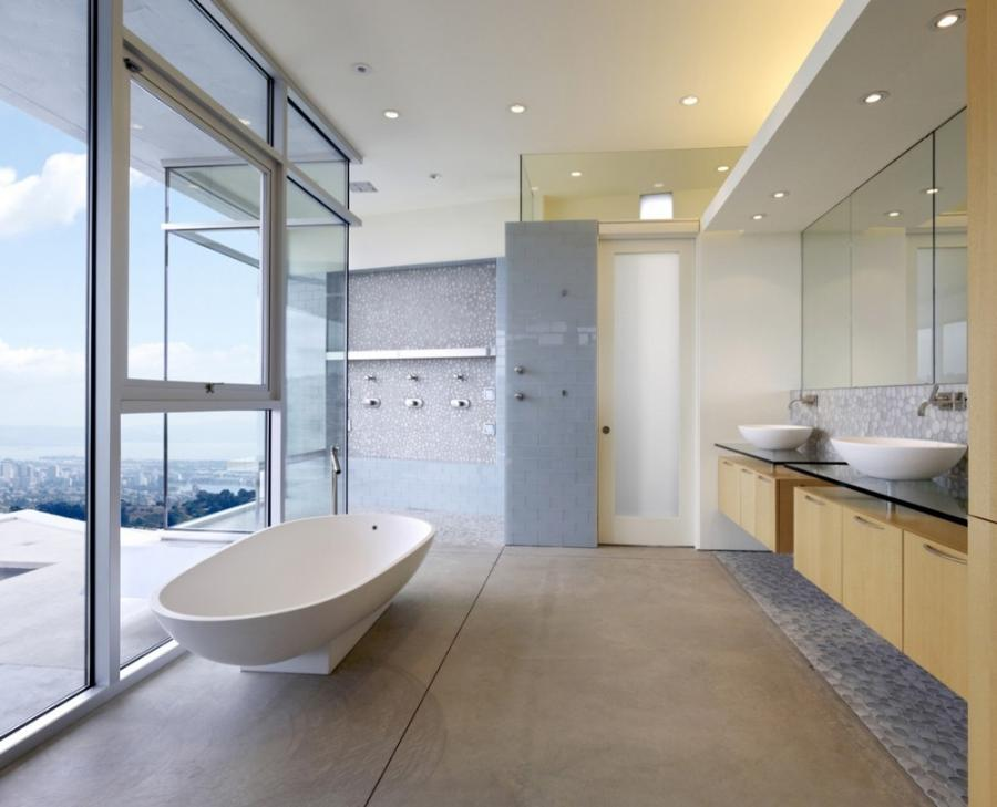 Oakland House Master Bathroom Interior Photography