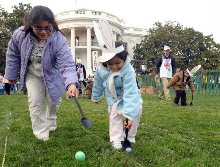 White House Easter Egg Roll 2009 Photos