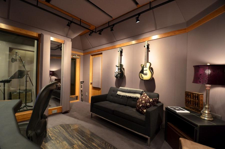 Interior of professional photo studio for Bedroom recording studio