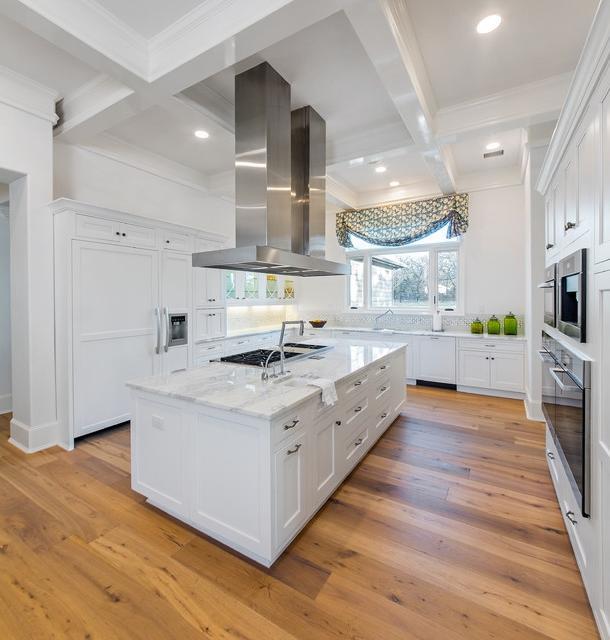 Photos elegant white kitchens for Classy white kitchens