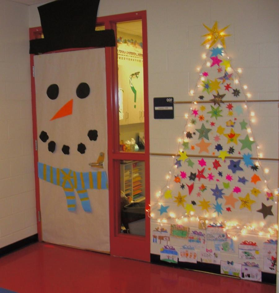 Beautiful Christmas Office Door Decorating Ideas Christmas Office Door