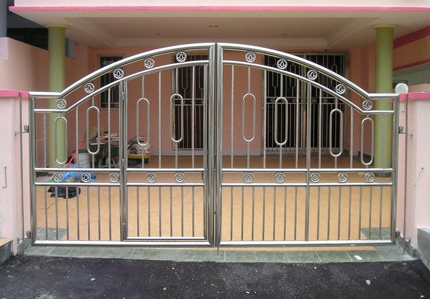 Front Gate Designs Photos