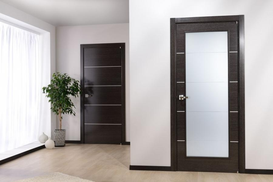 white modern interior doors Apartment Impressive Contemporary...