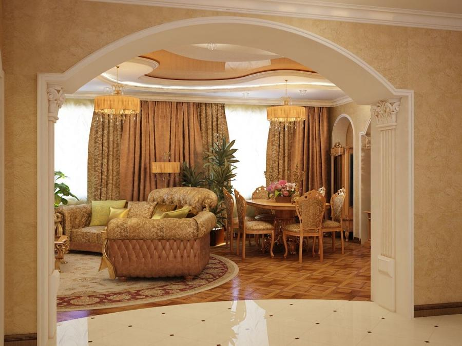 Photos of home wall arch for Interior wall arches
