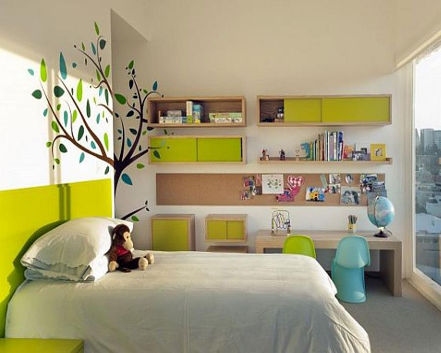 great kids room decorating ideas White