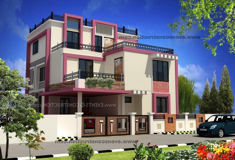 Beautiful house compound wall photos for Modern design building services ltd