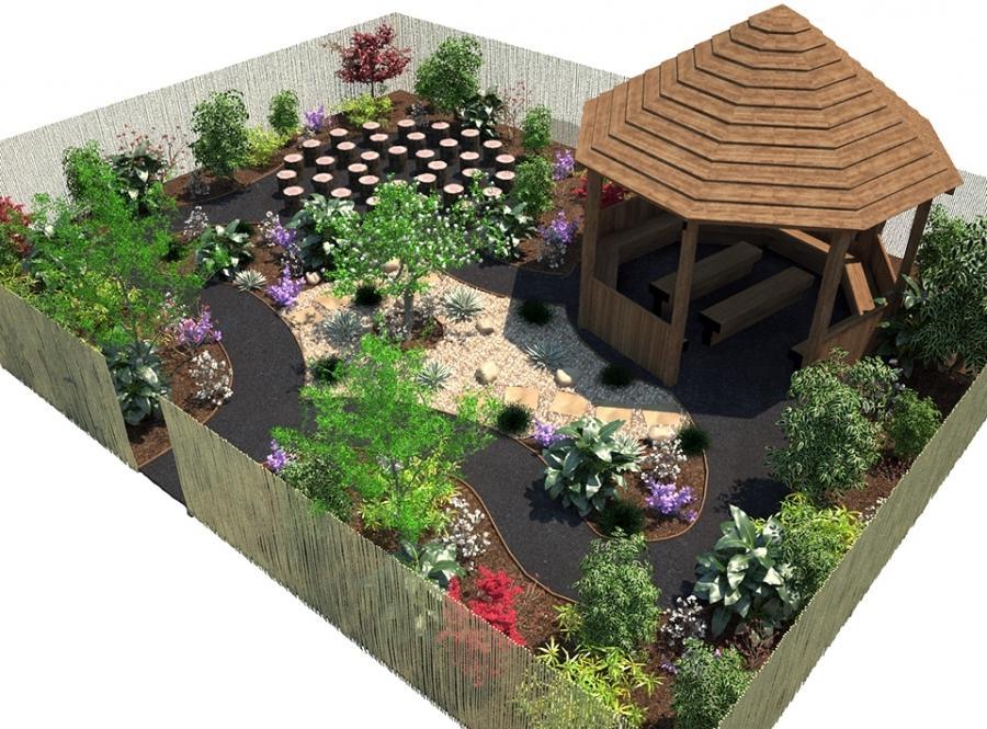 Prayer garden photos for Prayer garden designs