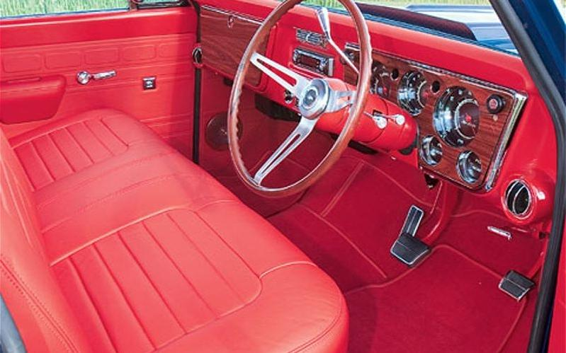Custom truck interior photos - Custom leather interior for trucks ...