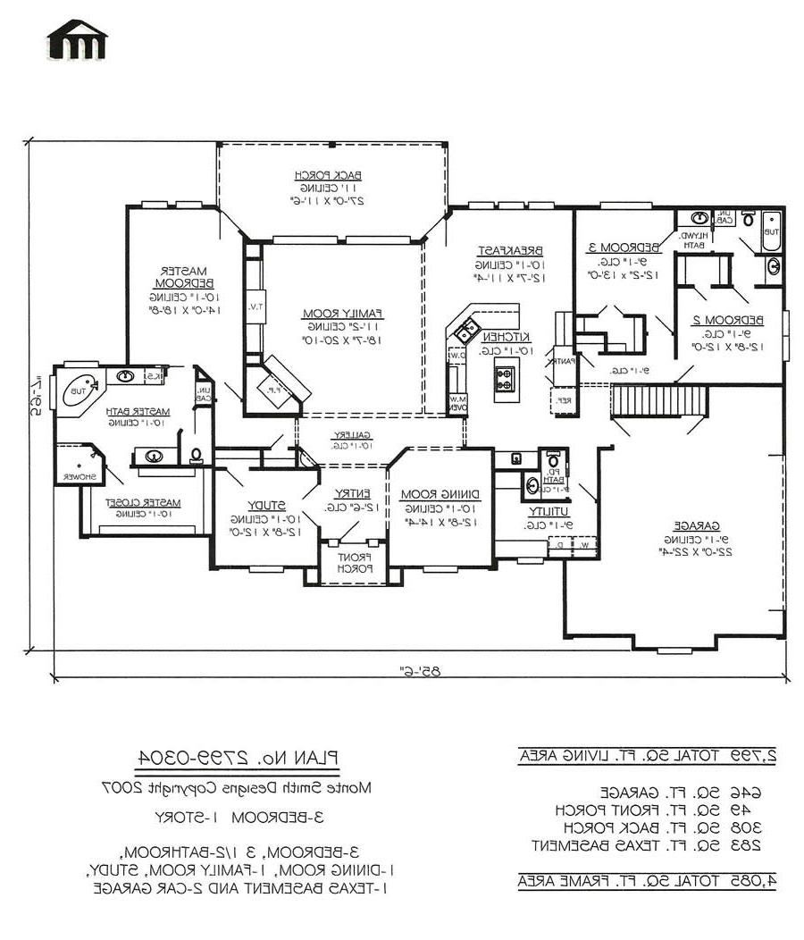 Texas Ranch Floor Plans House Plans In Texas Home Texas House Plans Over 700
