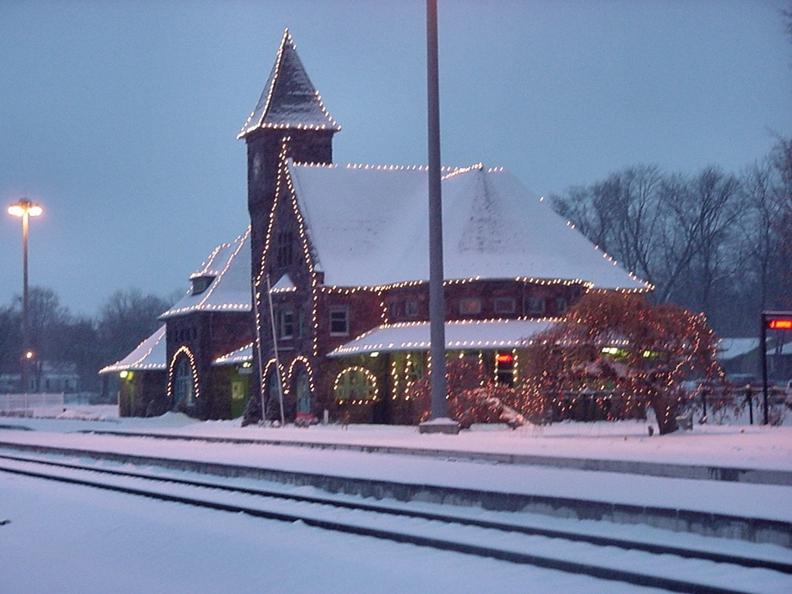 The Historic Niles Amtrak Train Depot was built in 1892 and is...