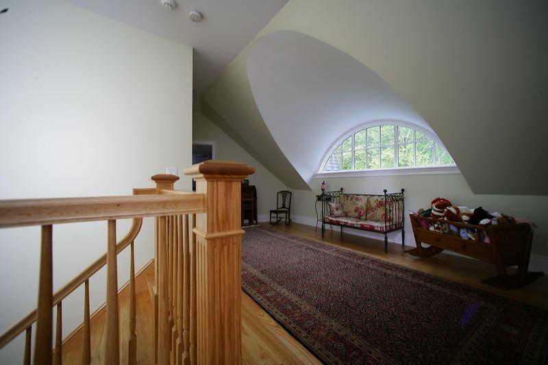 Interior photos of dormers for Prefab eyebrow dormer