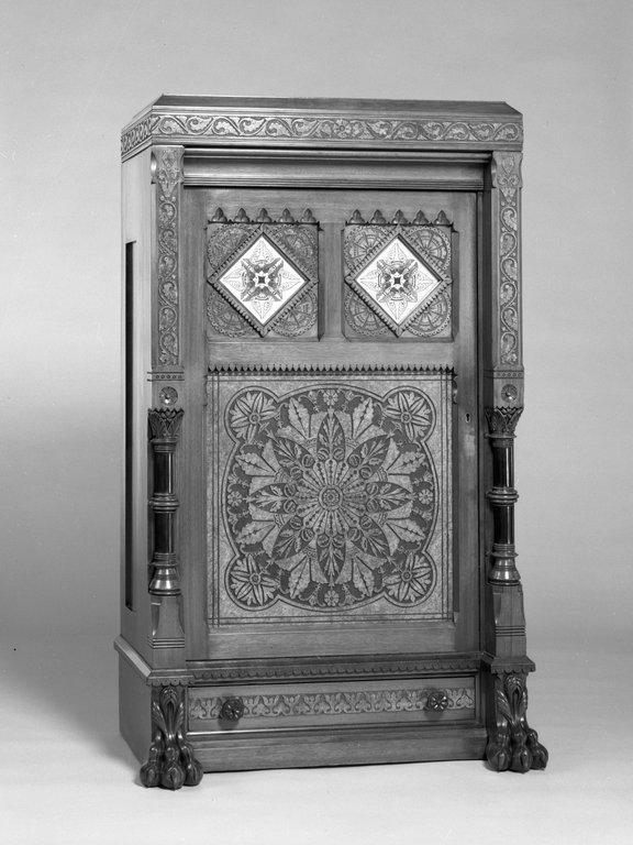 Brooklyn museum decorative arts cabinet source