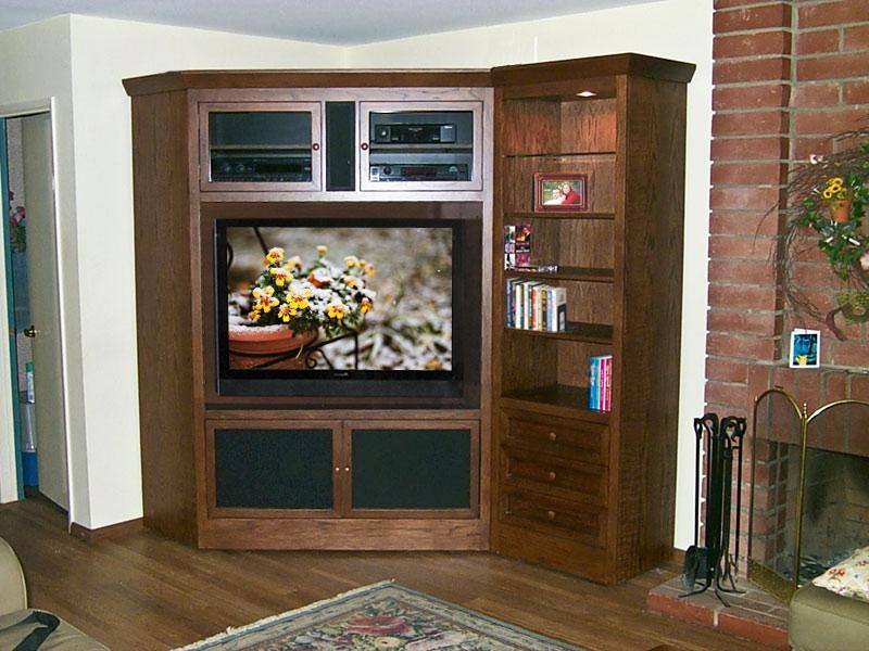 Corner Tv Cabinet Photos