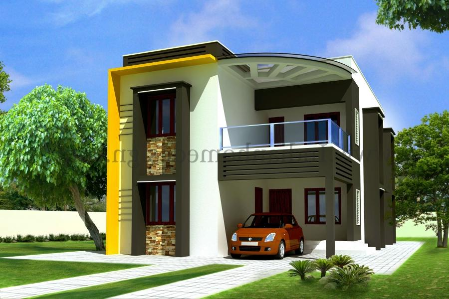 ... Exterior Kerala Contemporary Villa Home Design By Mastercad...