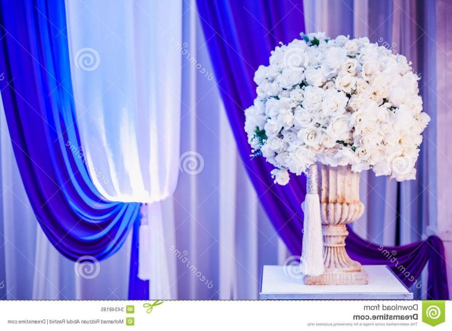 Wedding decoration for the coupleu seating stage.
