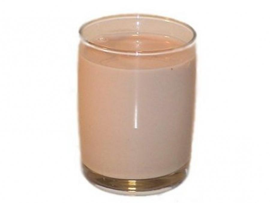 Glass Of Chocolate Milk Photo