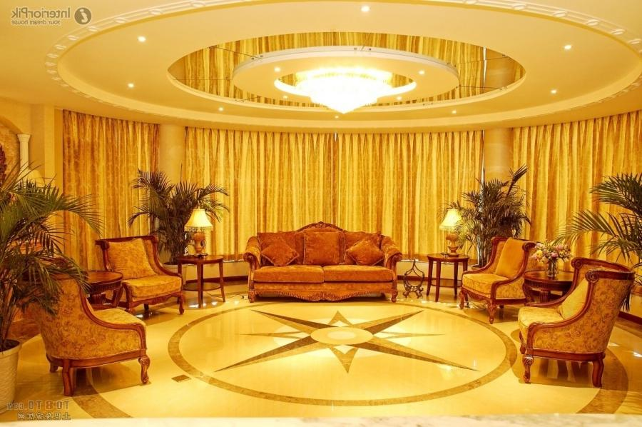 2013 House ceiling decoration living room effect chart...