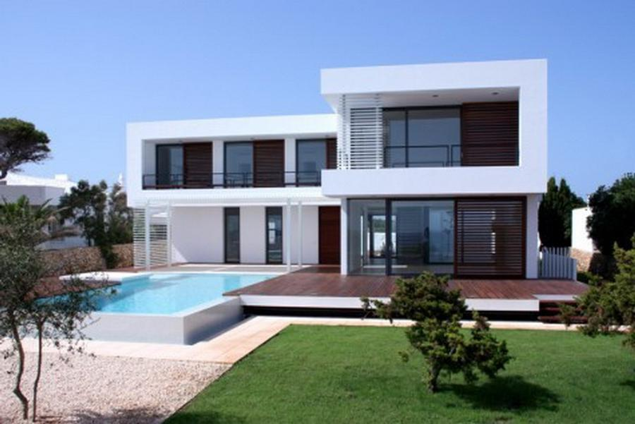 Exterior Decoration Ideas For Houses With Elegant Modern Summer...
