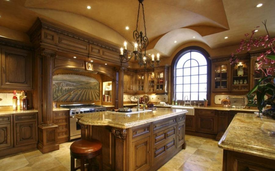 Modern Kitchen Decoration Granite Countertops Flooring listed...