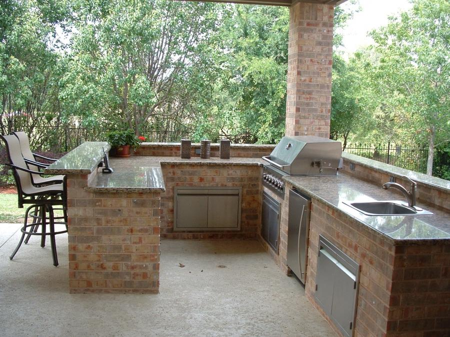 photos of outdoor kitchens and bars. Black Bedroom Furniture Sets. Home Design Ideas