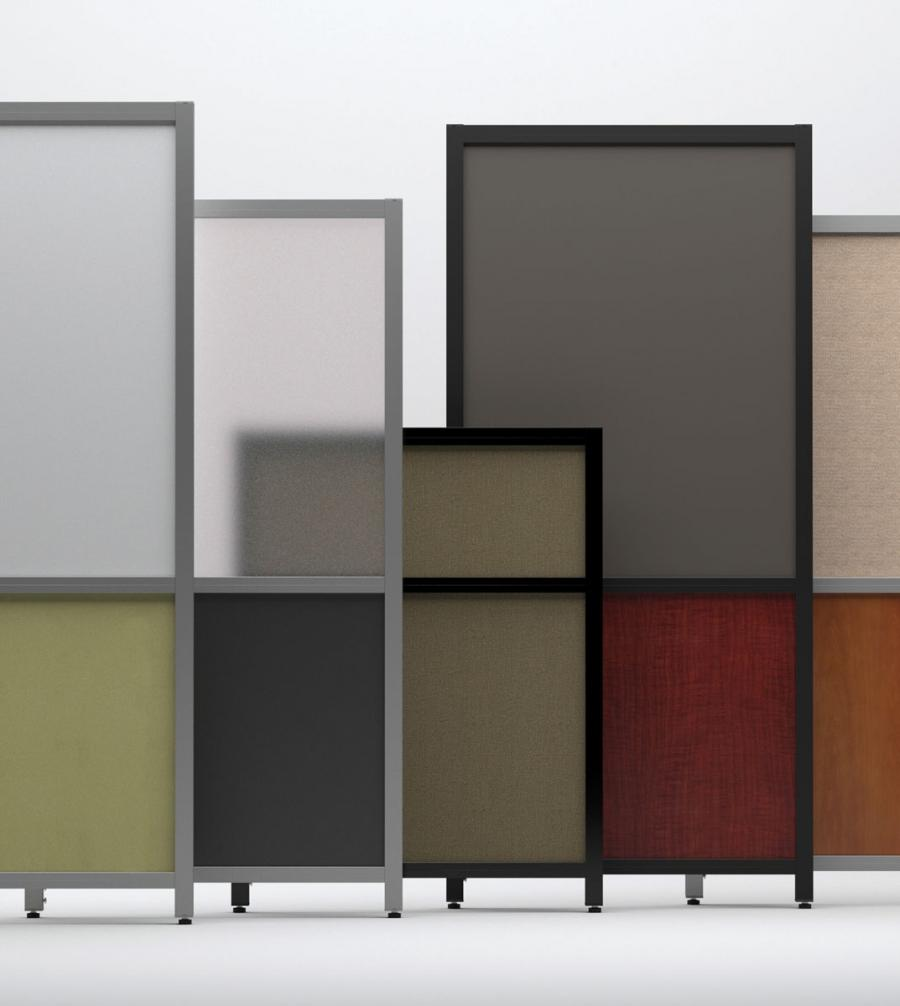 Short photo room divider for Create own room