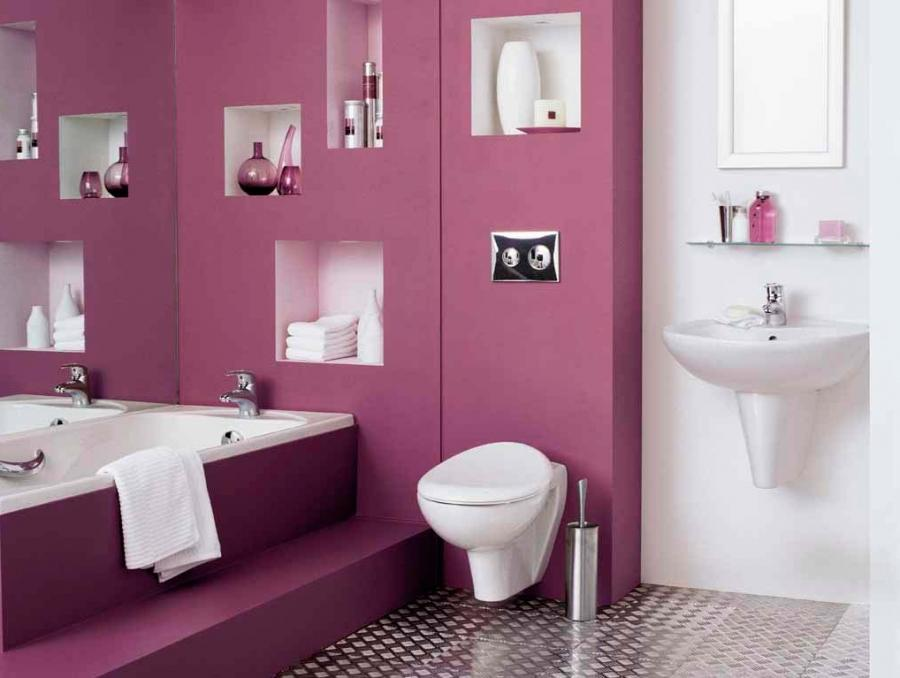 Great Color Ideas for Your Bathrooms