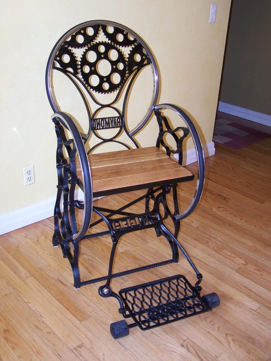 Sewing Machine Chairs Photos