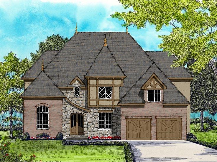 European house plans with photos for Unique european house plans