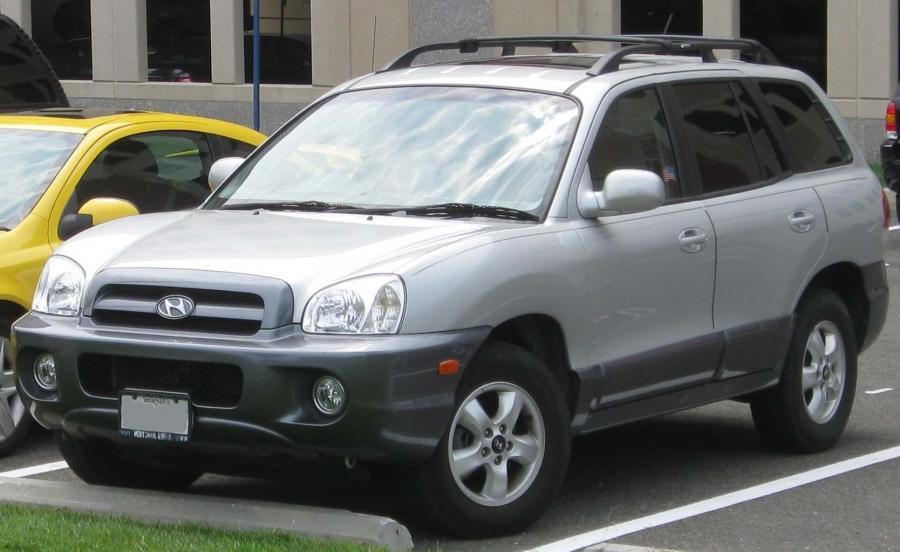 2005 2006 Hyundai Santa Fe (US)