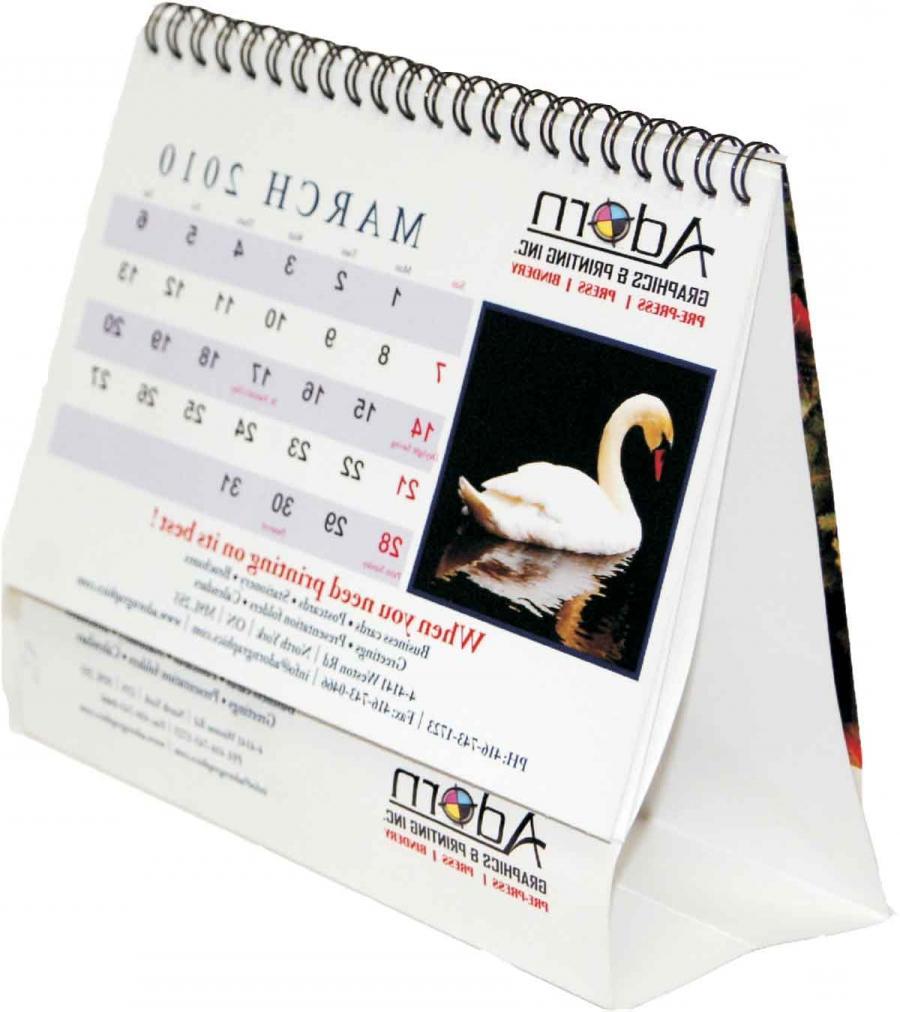 Photography Calendar Printing : Photo desk calendar printing