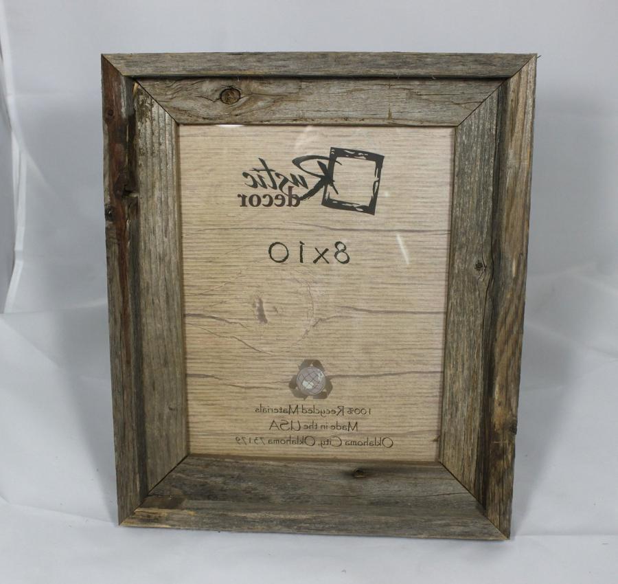glass block photo frame 8x10