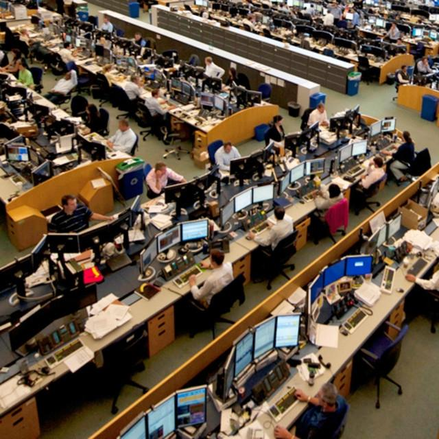 Ubs Warburg Center Trading Floor Facility Stamford
