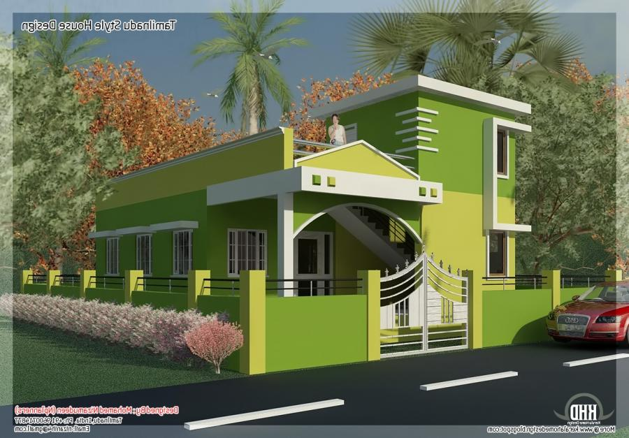 Front Elevation Of House In Chennai : House front elevations models in chennai joy studio