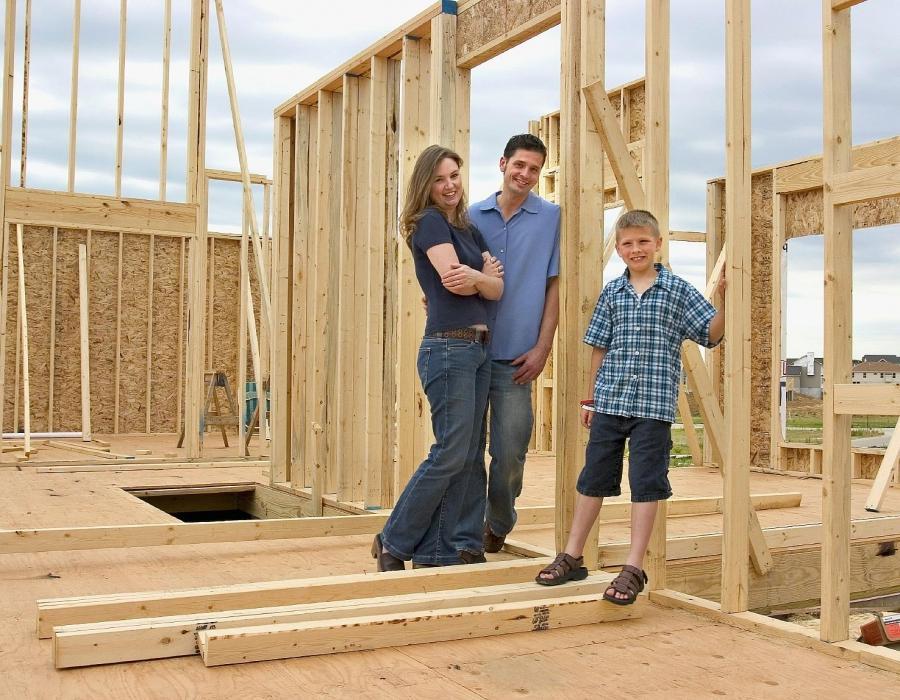 Как я строил дом на даче своими руками