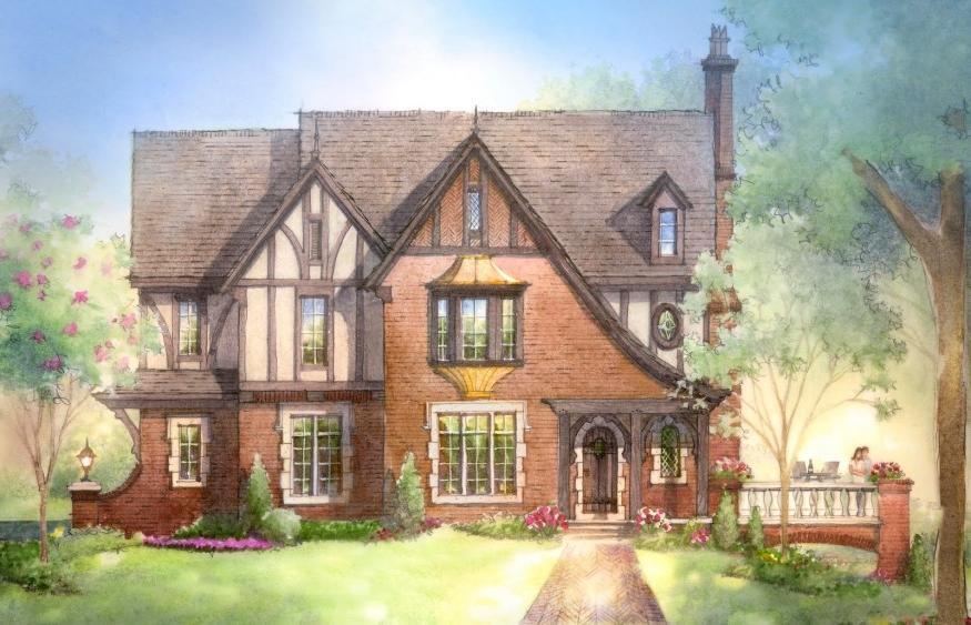 Tudor house designs photos for Historic tudor house plans