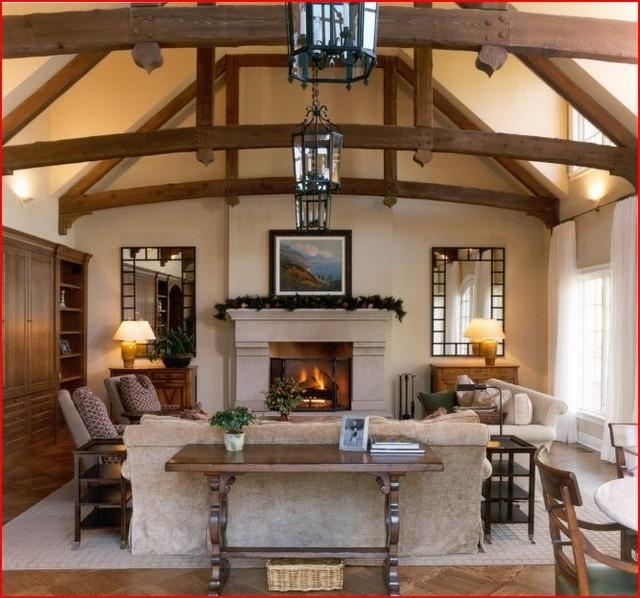 Vaulted Ceiling Beams Photos