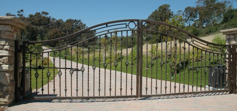 craftsman ranch ranch style gates artistic styles craftsman gates...