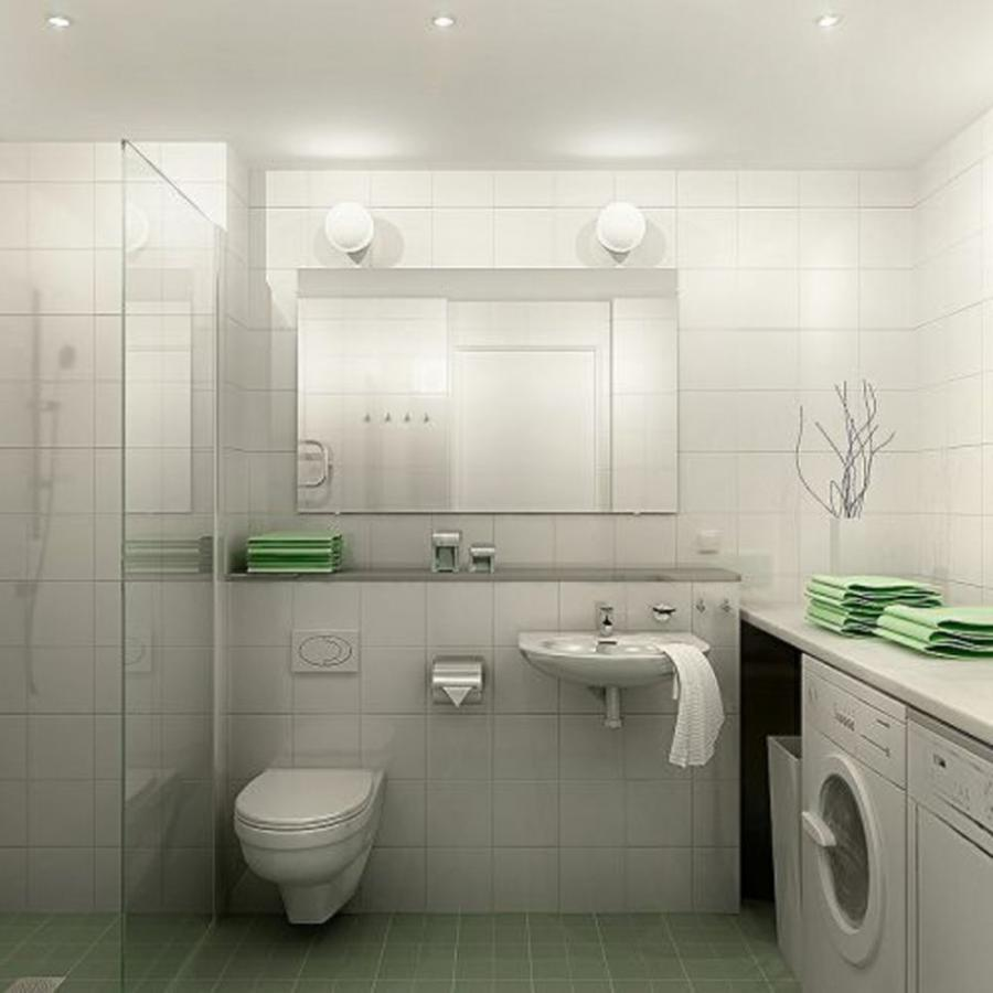Appealing Futuristic Bathroom Decoration : Futuristic White...