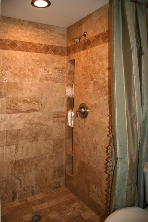 Custom bathroom tile photos for Custom showers for small bathrooms