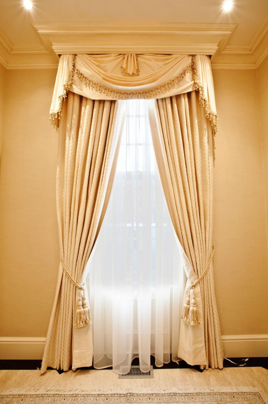Decorative grey window curtains design ideas
