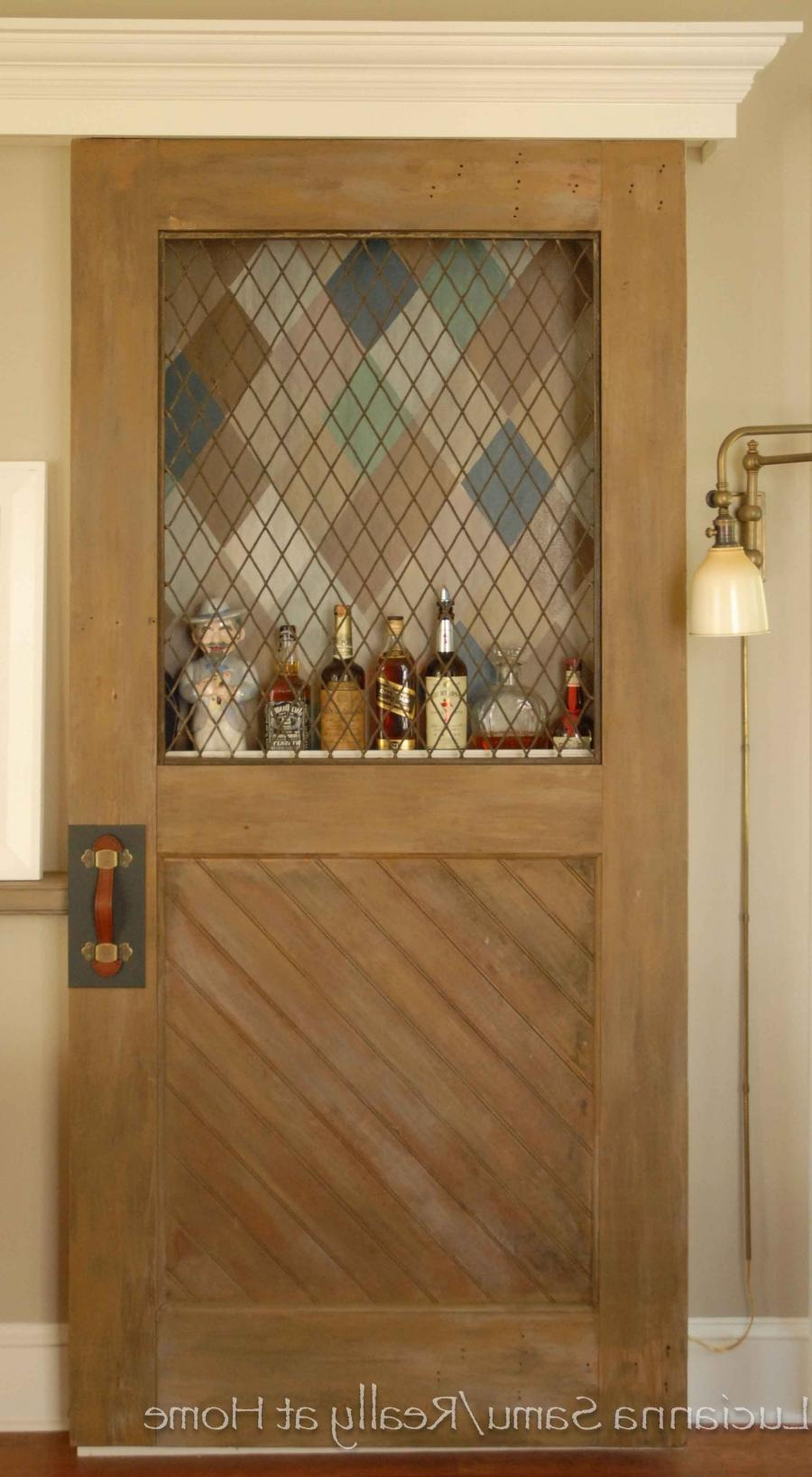 ... have the interior doors replicated to match of solid Alder,...