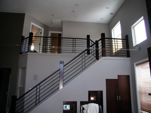 Contemporary Stair Railings Interior Photos