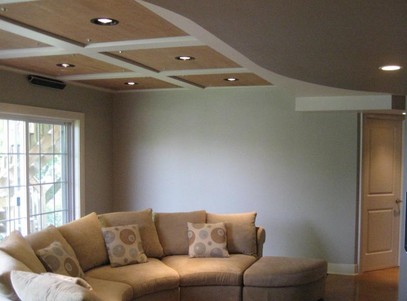 Remodeling your basement ceilings